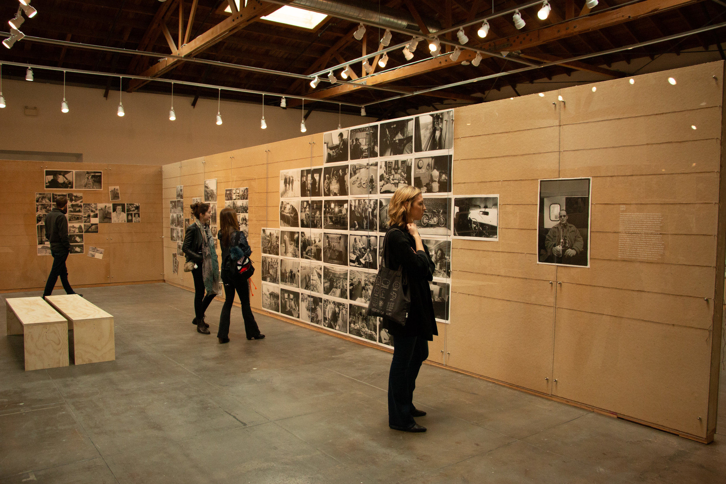 "Museum attendees tour the extensive exhibit of photographer Annie Leibovitz ""The Early Years"" at the Hauser & Wirth Museum located in theArts District of downtown Los Angeles, Calif. The exhibit is open through April 14, 2019.Shayn Almeida / The Corsair"