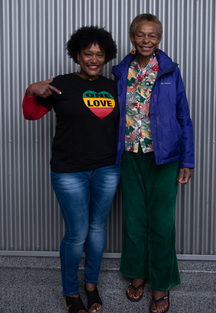 At Santa Monica College ON Feb 26,2019 the main stage at theater Arts complex With Nngest Likke. The movie PHAT GIRLZ with her mother. Clyde Bates Jr./The Corsair