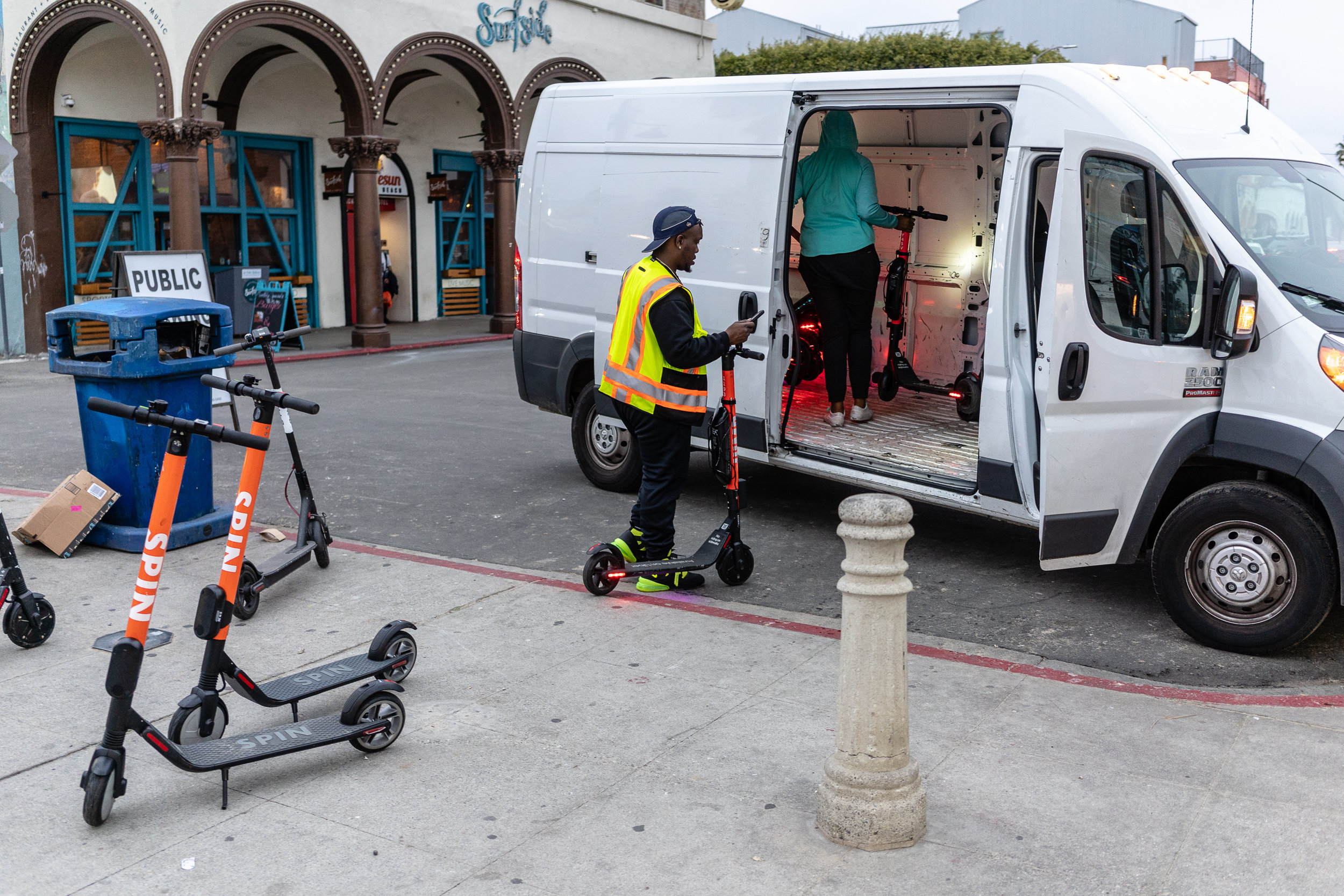 Scooter Keepers / Uber 1