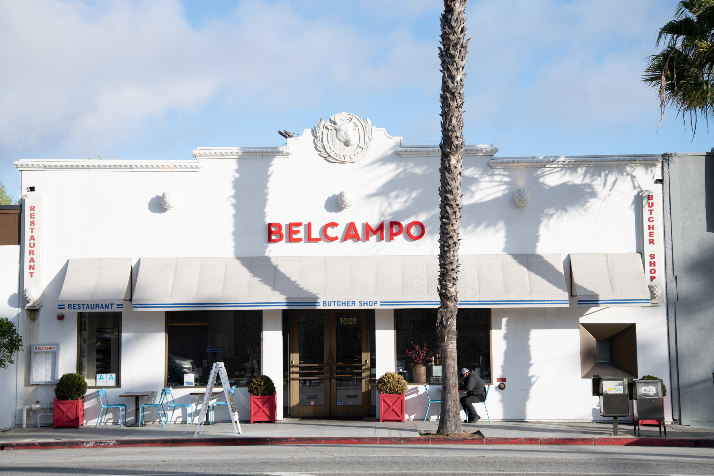 Belcampo Meat Company butcher shop and restaurant, Thursday, March 21, 2019, on Wilshire Blvd. in Santa Monica, Calif. This is one of the company's multiple locations. (Nicole Haun/ The Corsair)