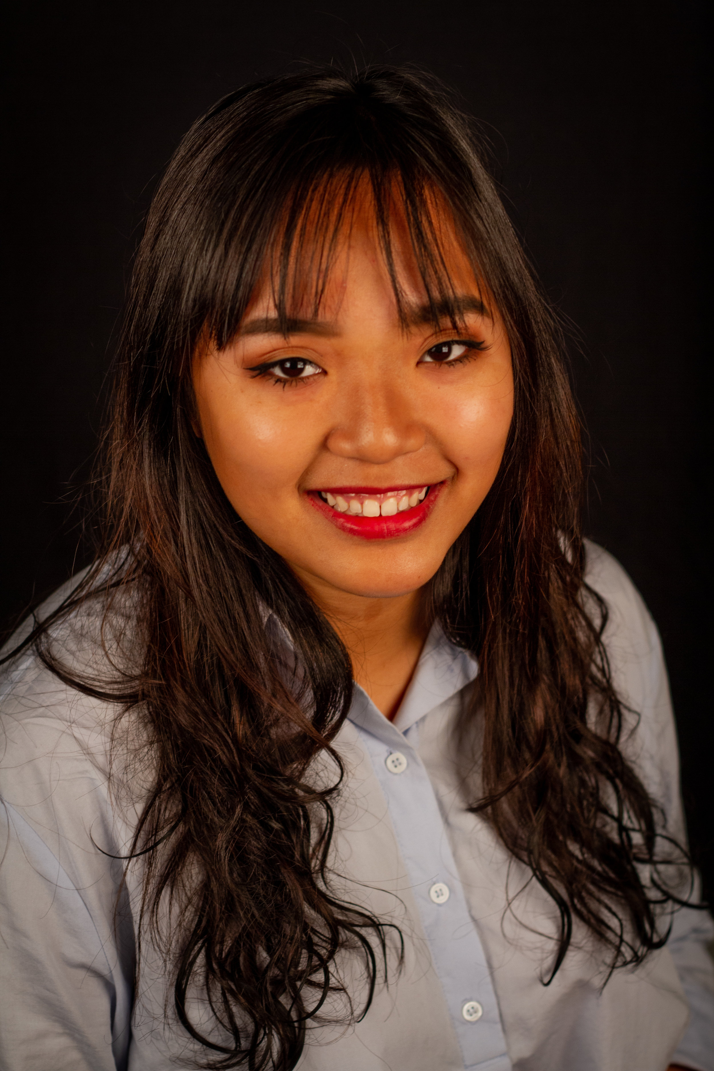 Summer Le is running for Student Advocacy. Photo was captured at Santa Monica College's Center for Media and Design on March 25, 2019. (Yasser Marte/Corsair Staff)