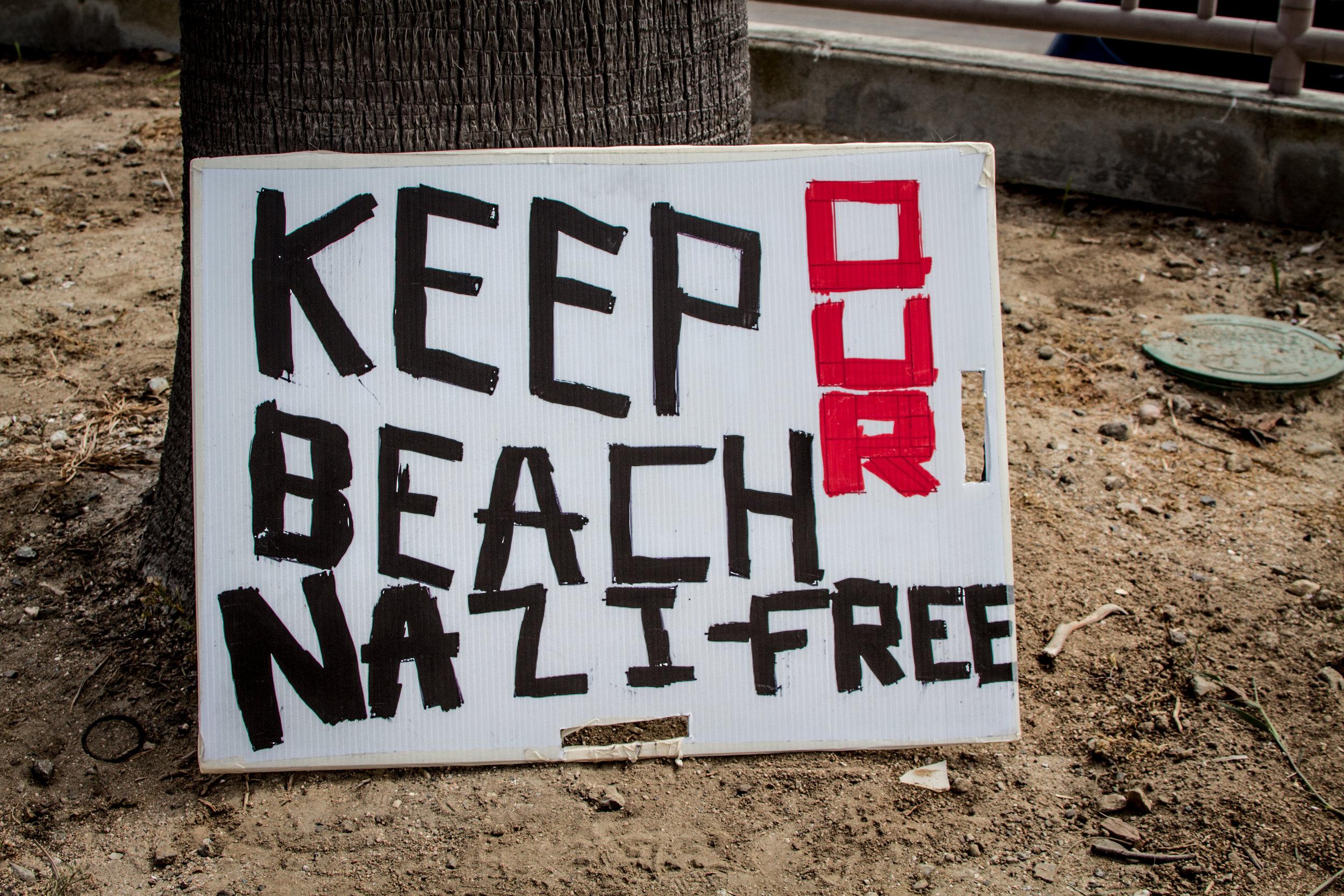 Nazi Free Sign