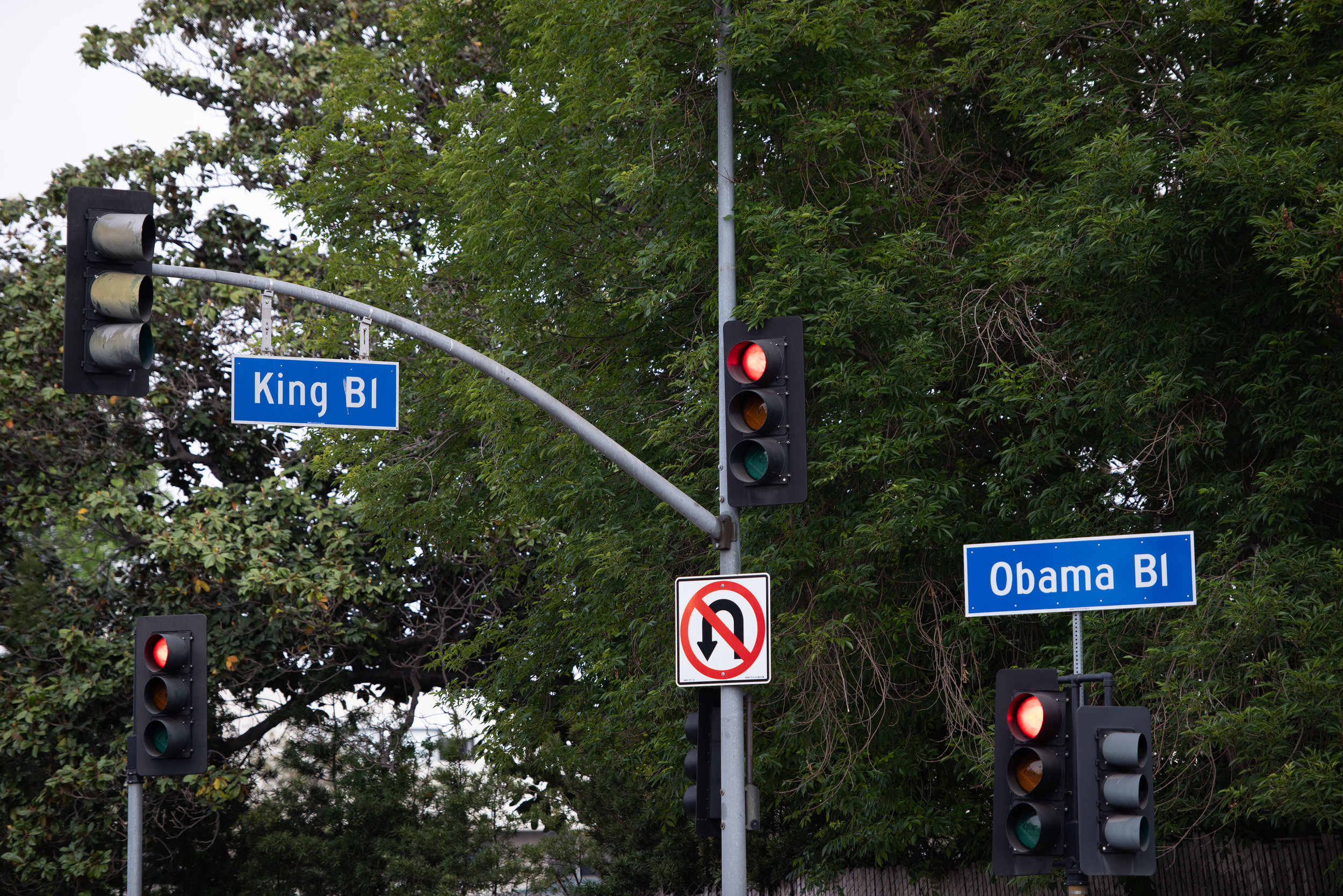 Celebration of Obama drive on May 4, 2019 in Baldwin Hills California at 5 PM