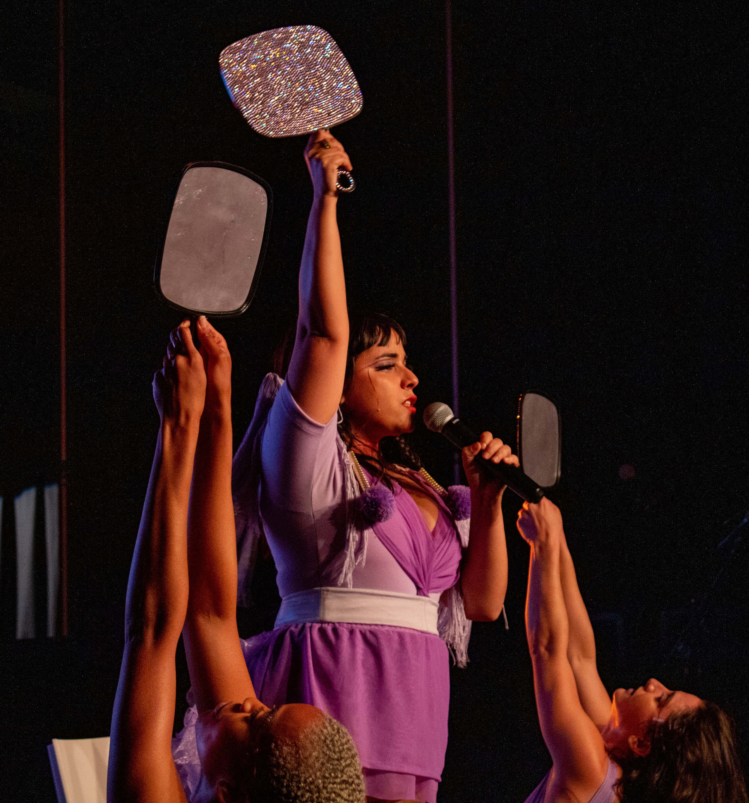 Jarina De Marco performing at We Rise LA on May 17, 2019 in Los Angeles, California. Danica Creahan / The Corsair