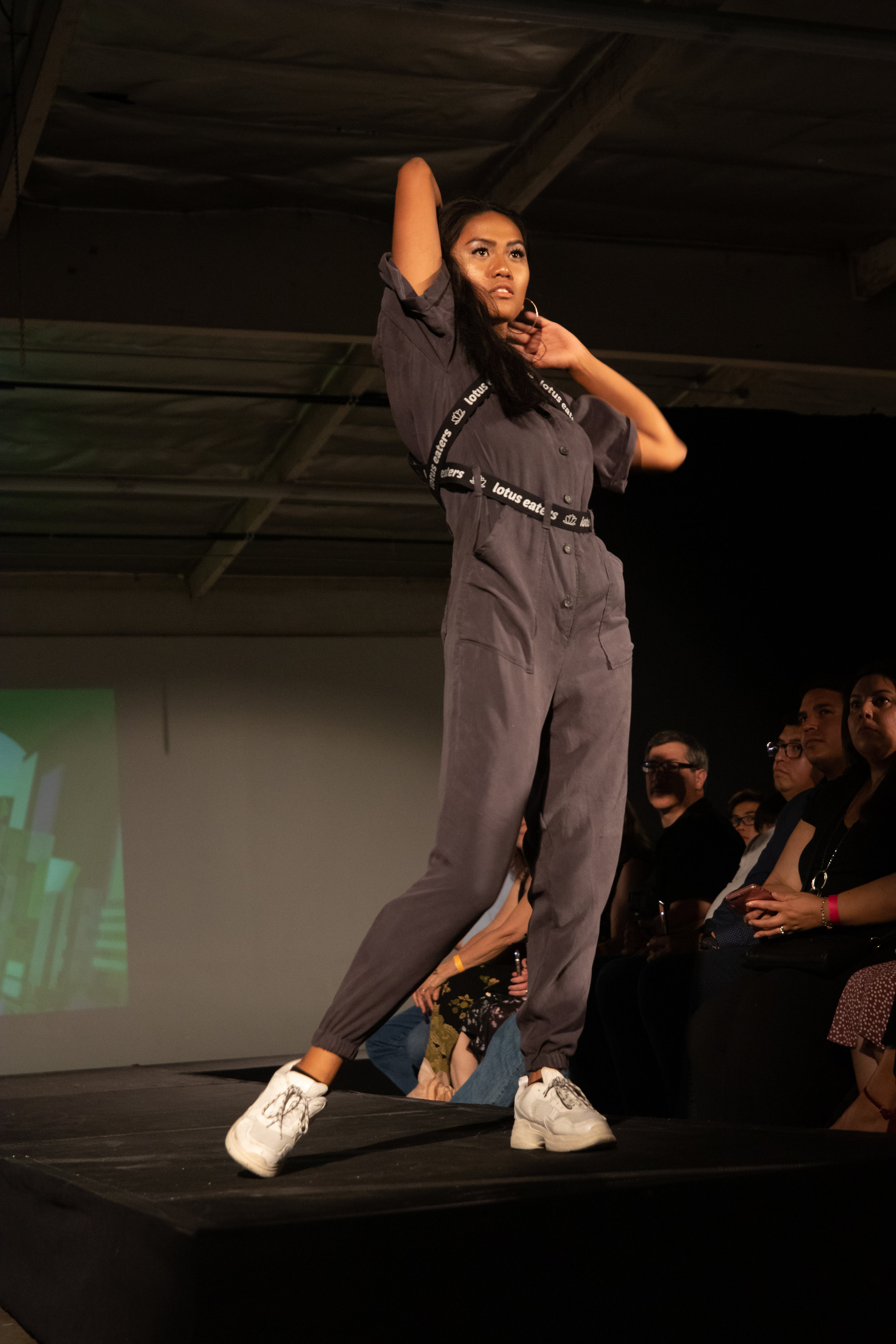 Justine Banal, design by Emily Lu and Megan Yee