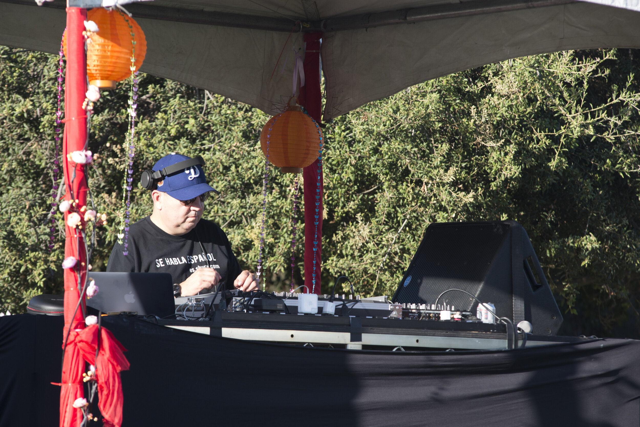 Various DJs preforming live music at Tarfest on September 14, 2019.  (Anthony Mayan/The Corsair).