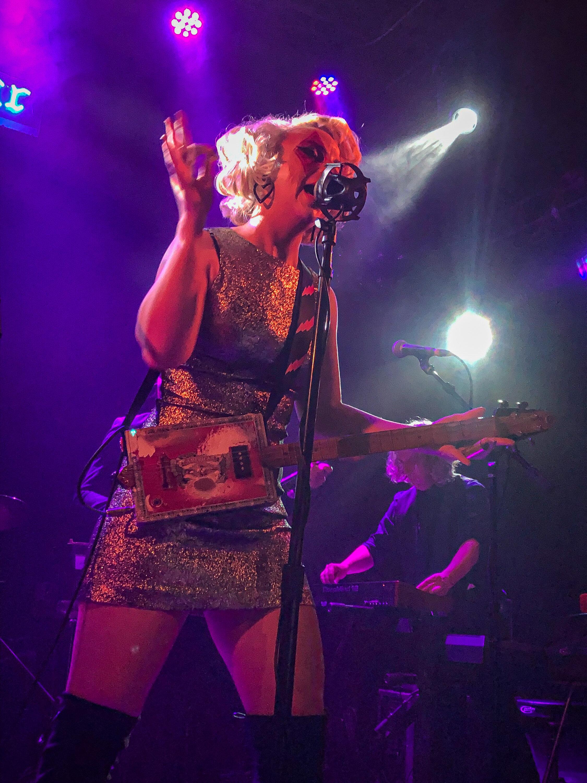 Guitarist Samantha Fish displays her skills with lyricism, guitar, and performance art at The Troubadour  (Marco Pallotti / The Corsair).