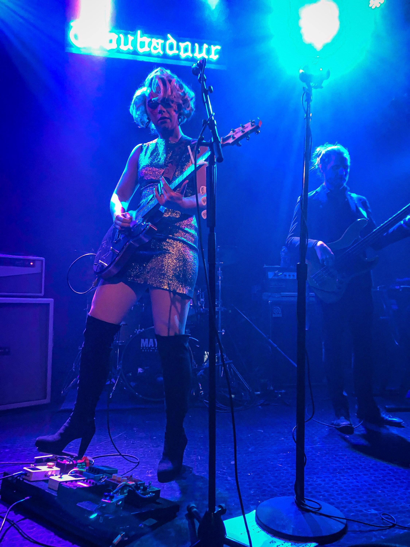 Guitarist Samantha Fish displays her skills with lyricism, guitar, and performance art at The Troubadour  (Marco Pallotti / Corsair).