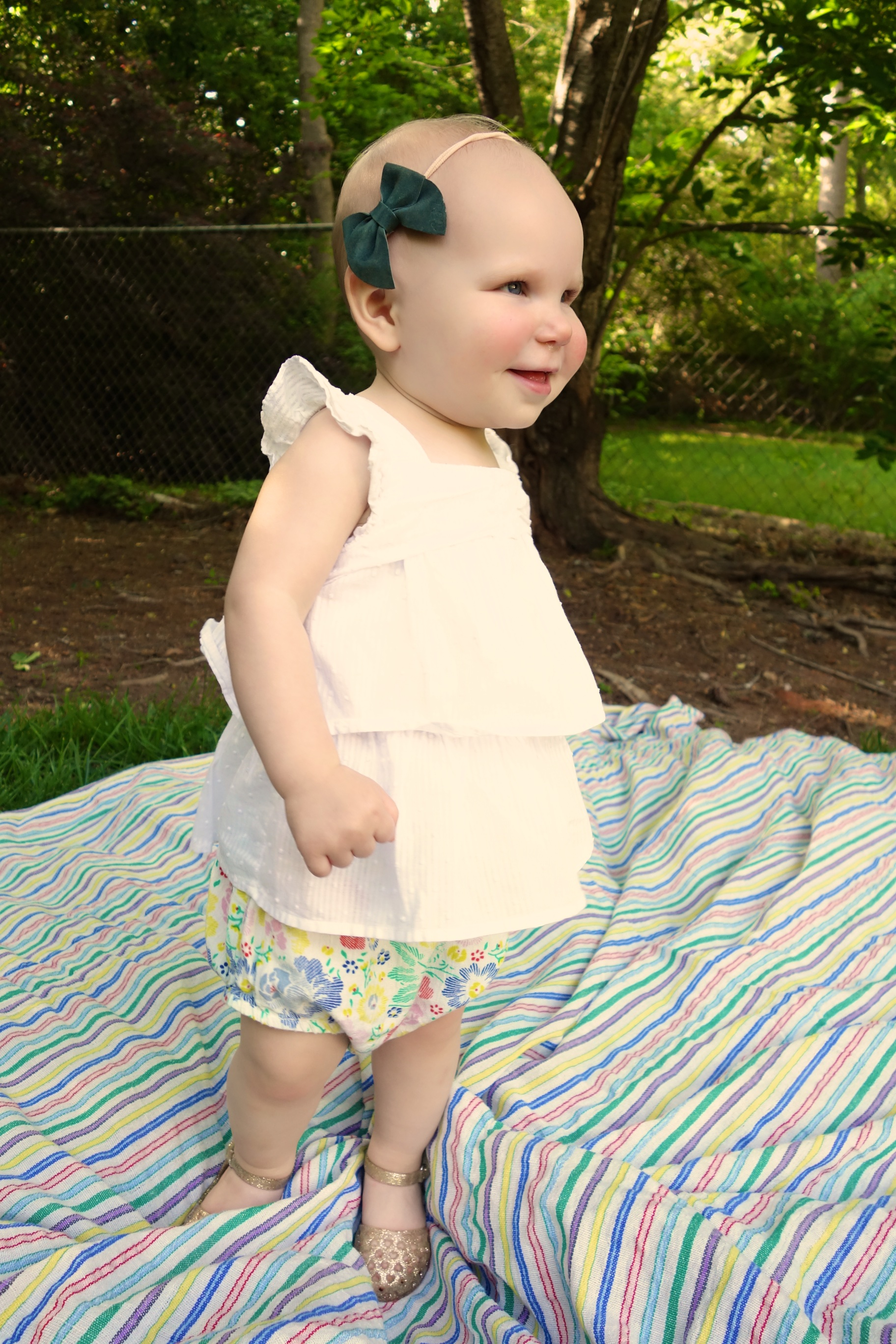 Twirling for mommy!