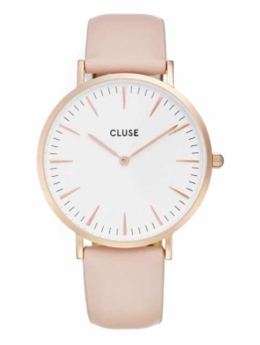 This simple, beautiful watch is one of my favorites! You can't beat the price and you can wear it with everything. Love the clean, neutral look.  SHOP THIS WATCH  HERE