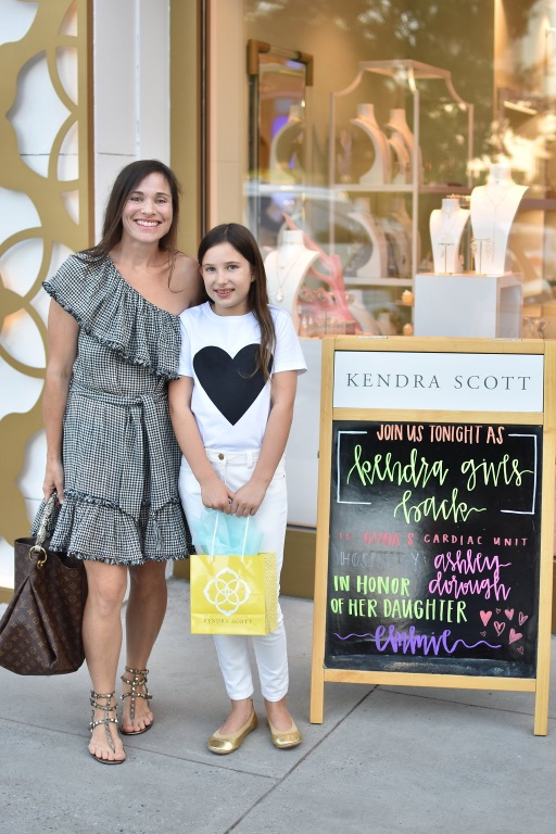 ATL blogger & friend, Jessica DuSang and Addy Kate!