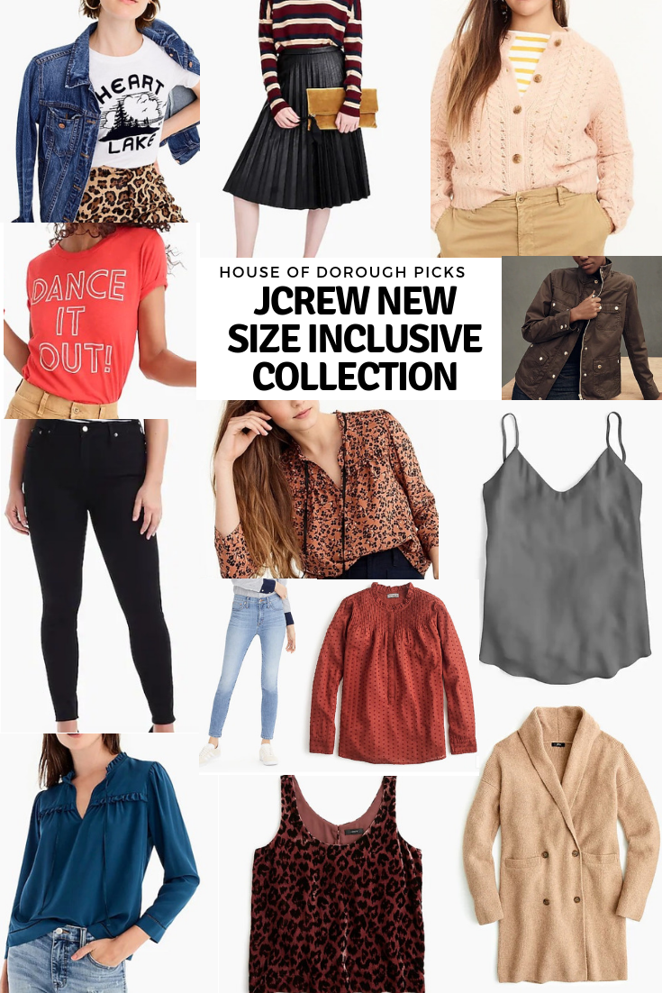 jcrew size inclusive