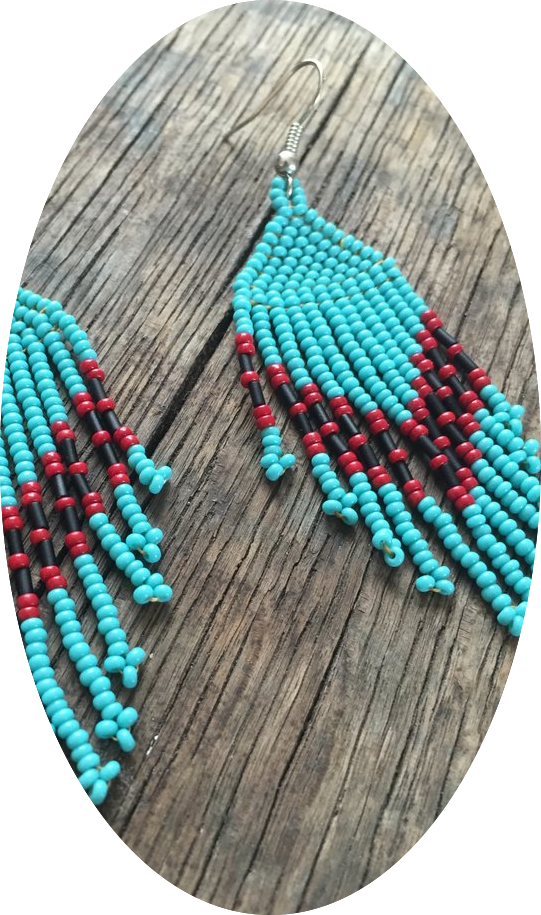 Cheyenne Brick-Stitch Earrings