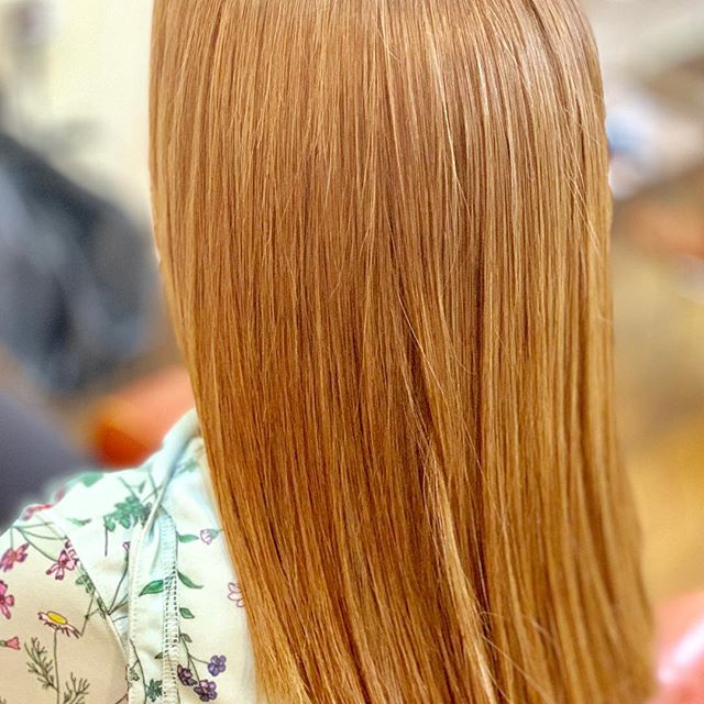 Jack made really straight hair. He only uses blow dry!! #Defi #hairstyle #haircolor #boston