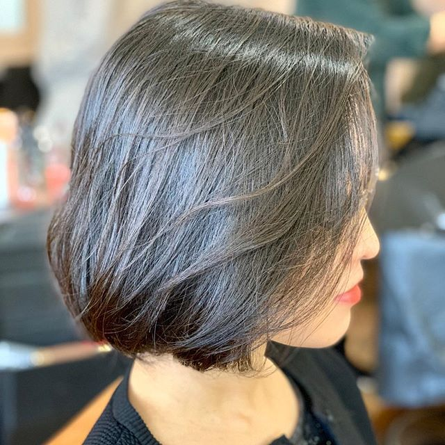 She is going to party!! Jack made new party look!  #Defi #blowdry #hairsalon #boston