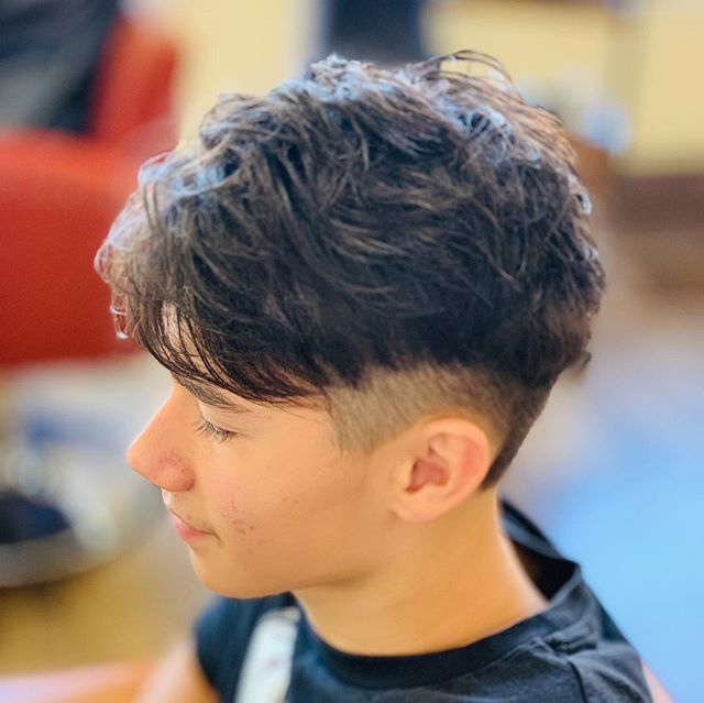 He got a new men's style by Jack!! #boston #hairsalon #menshair #defi #japanesehairstyle