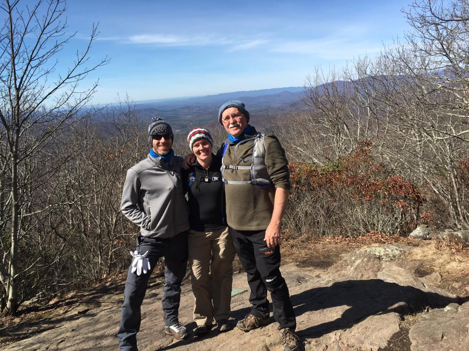 My dad, my brother, and I on top of Springer Mountain. One day I'll be going much further than Springer.