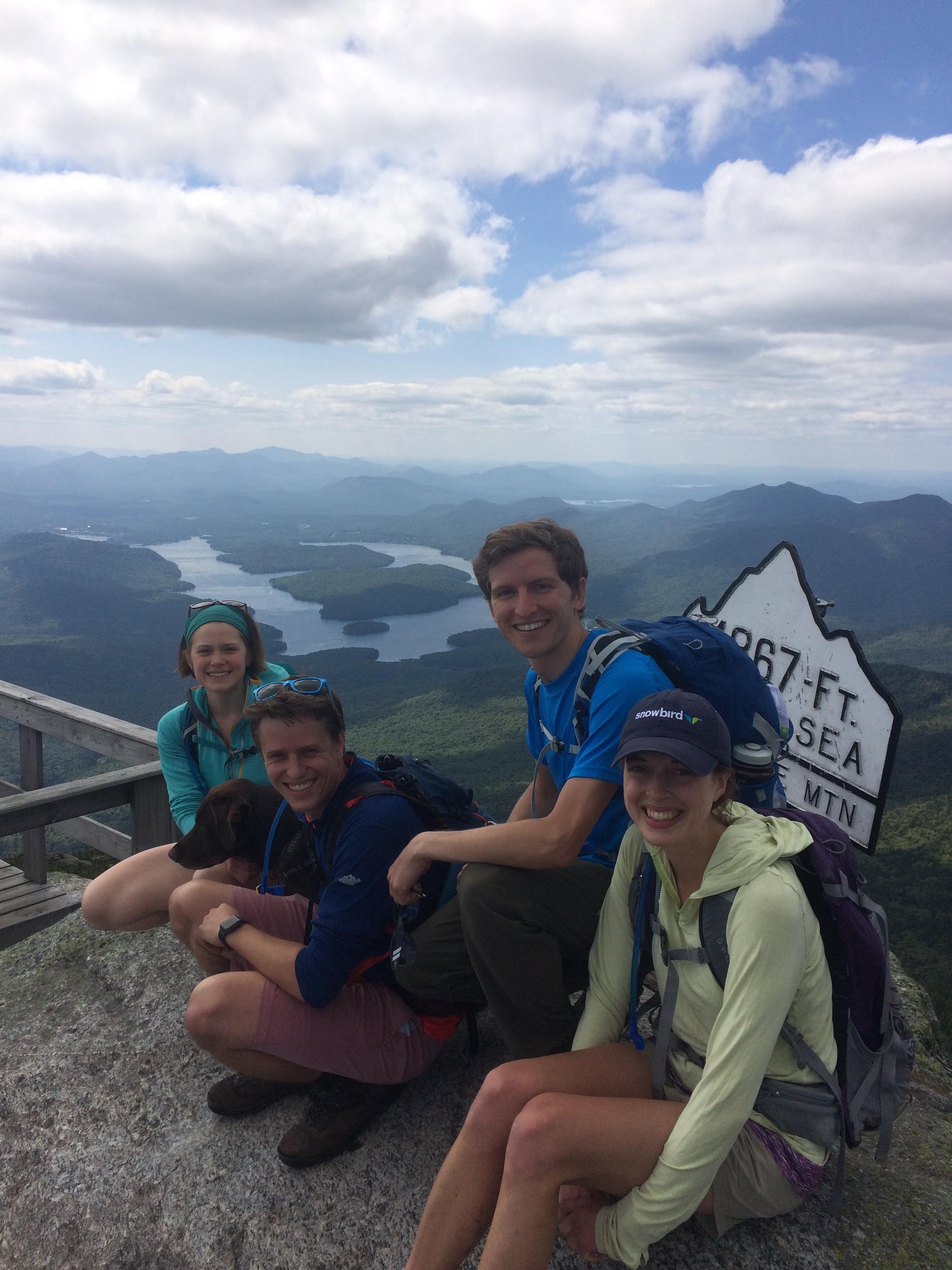 Summit of Whiteface Mountain, Lack Placid, NY