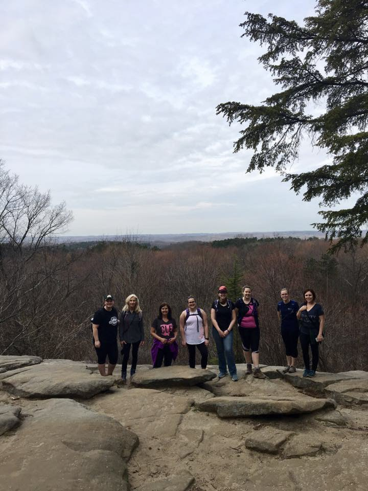 from GWH OFFICIAL HIKE, led by Ohio Ambassador Nicole Brown