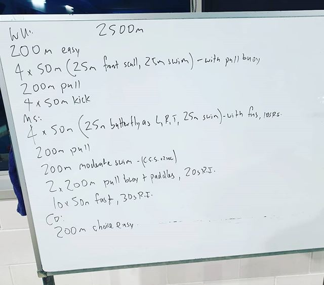 Hey team, this was Wednesday's session.  Lots of variation but the idea for this season is to develop power and translate it into some fast swimming.  Keep tge acceleration focus of the stroke there, don't lose it on the fast, avoid wind milling.  #coach #triathlontraining #triathlon #tricoach #swim #motivated #swimcoach #swimming #tri #power #swimpower #swimstrength