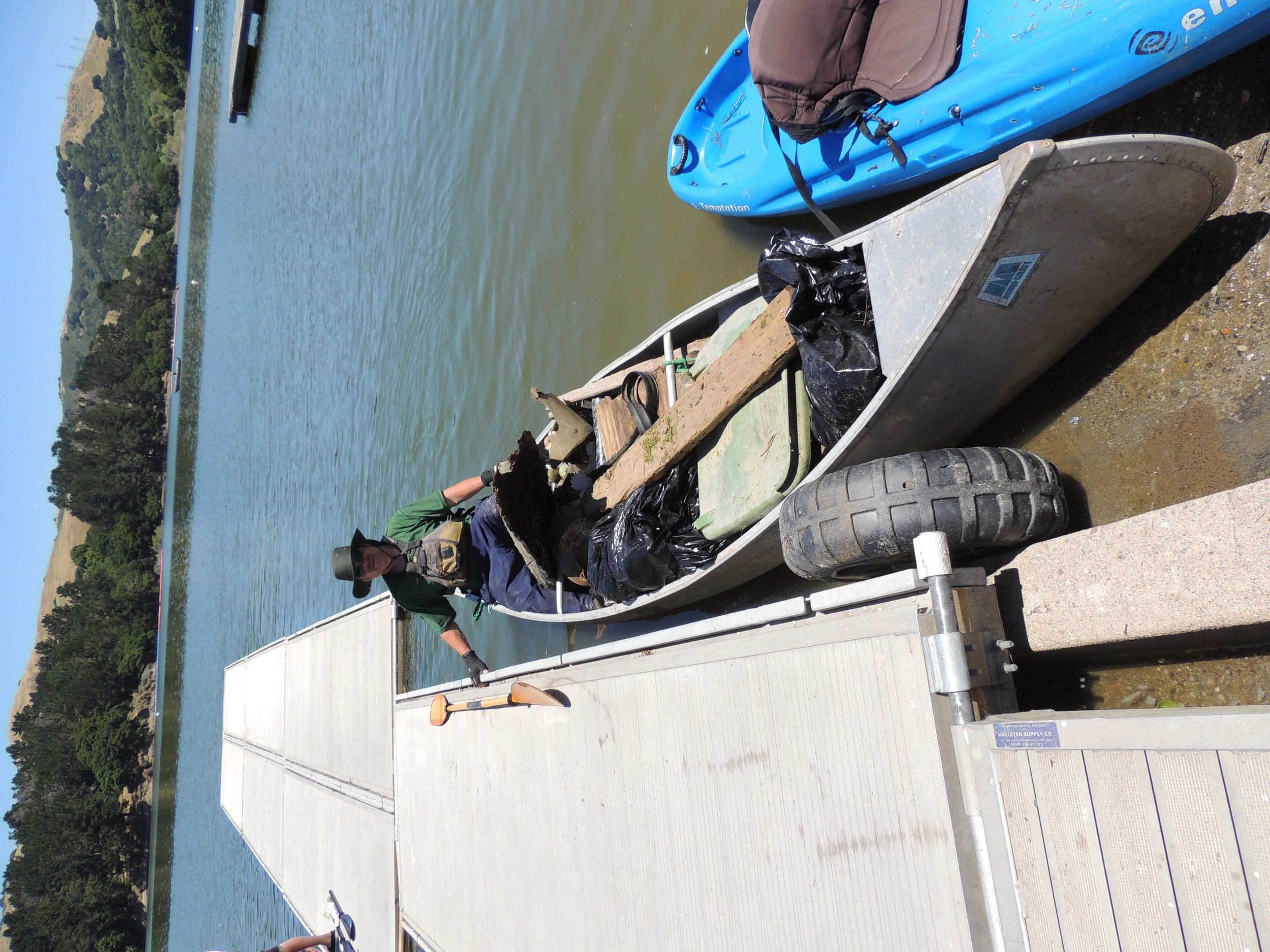 San Pablo Dam Kayak Cleanup