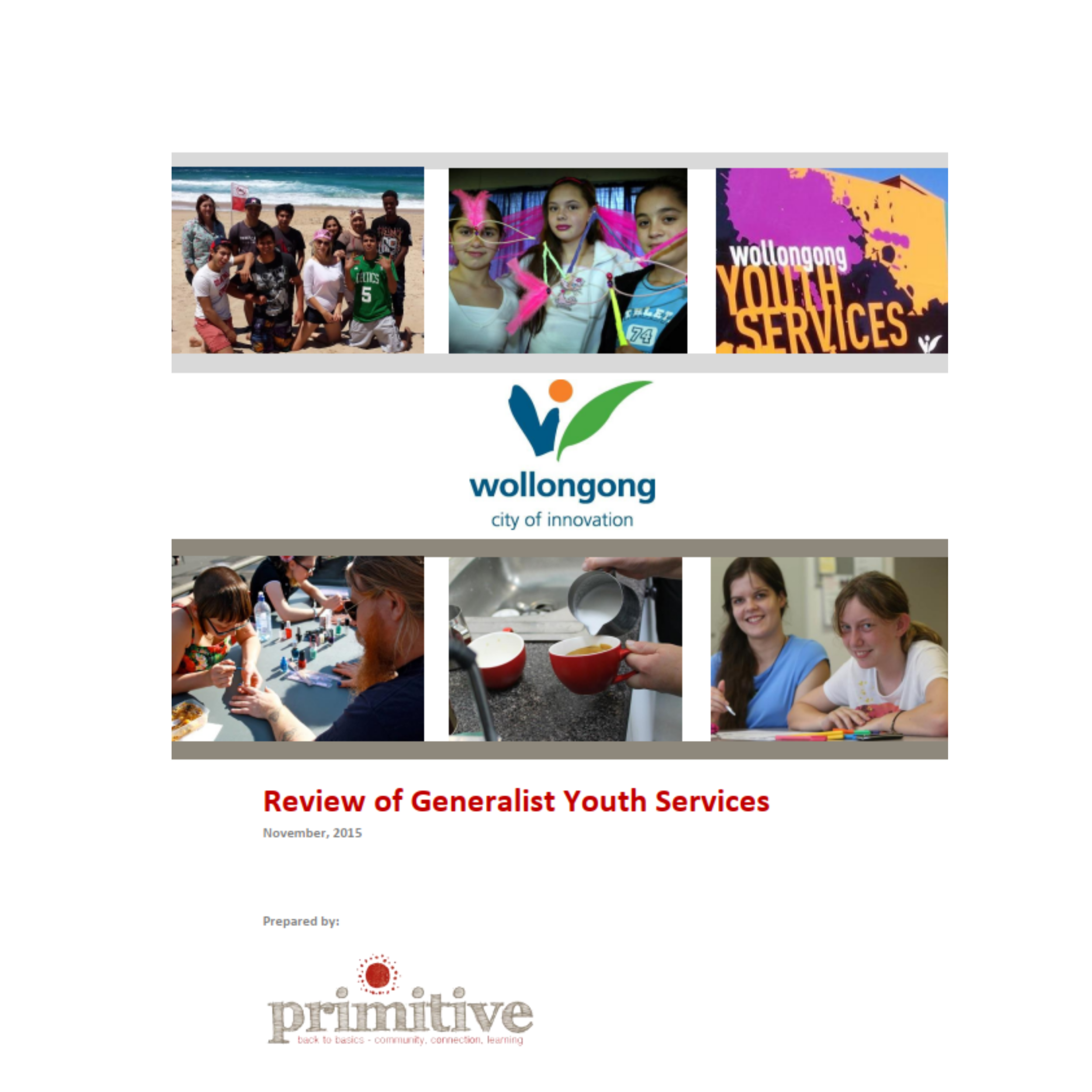 Evaluation of Wollongong Youth Services