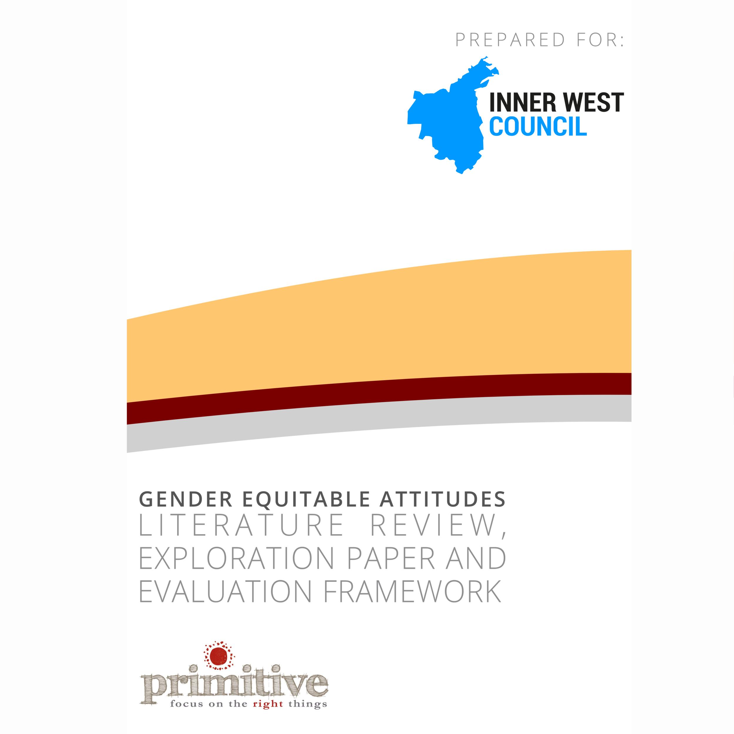 Gender attitude change literature review