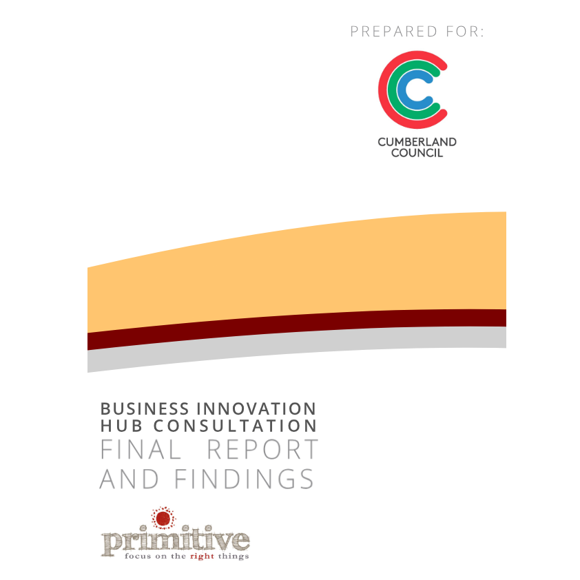 Business innovation hub community consultations