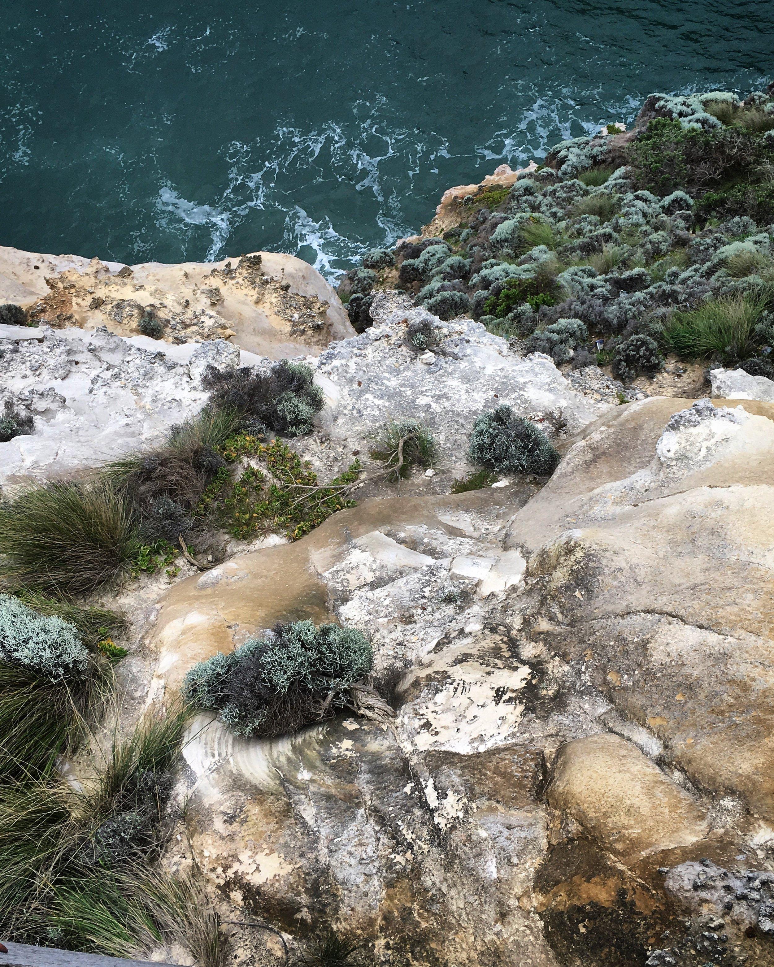 Great Ocean Road Cliff face