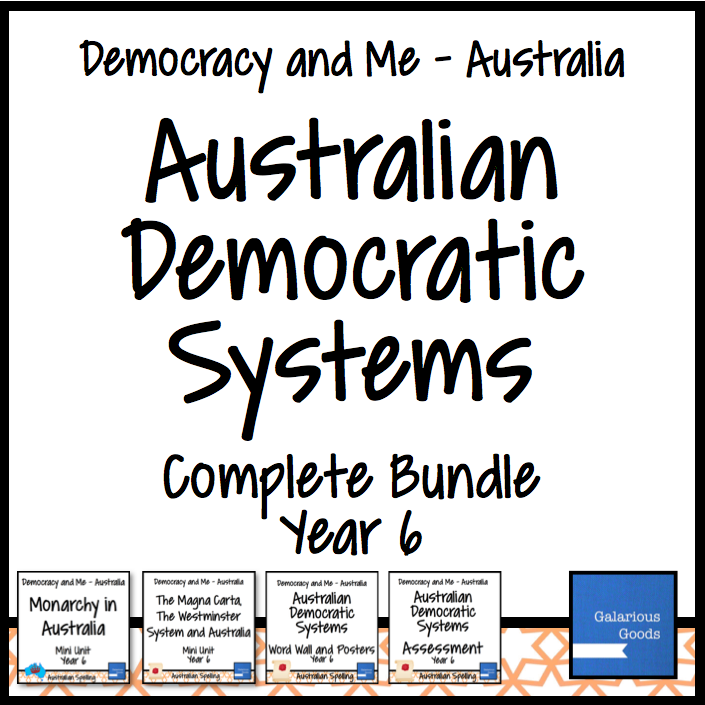 Year 6 Civics and citizenship bundle looking at Monarchy, the Magna Carta and the Westminster System