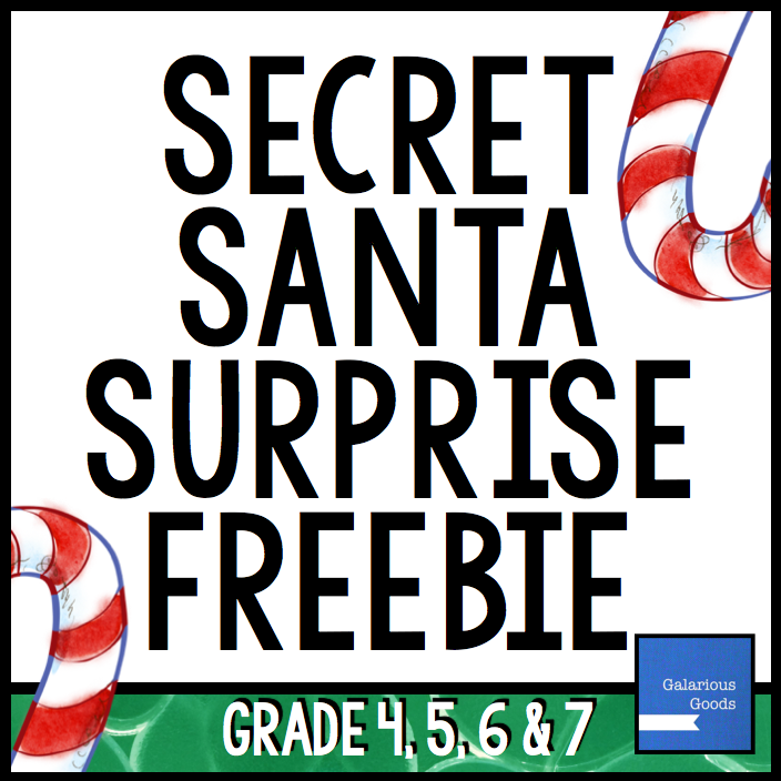 Get Your FREE Secret Santa Surprise from Galarious Goods