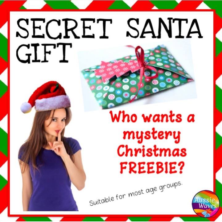 Get your FREE Secret Santa Surprise from Aussie Waves