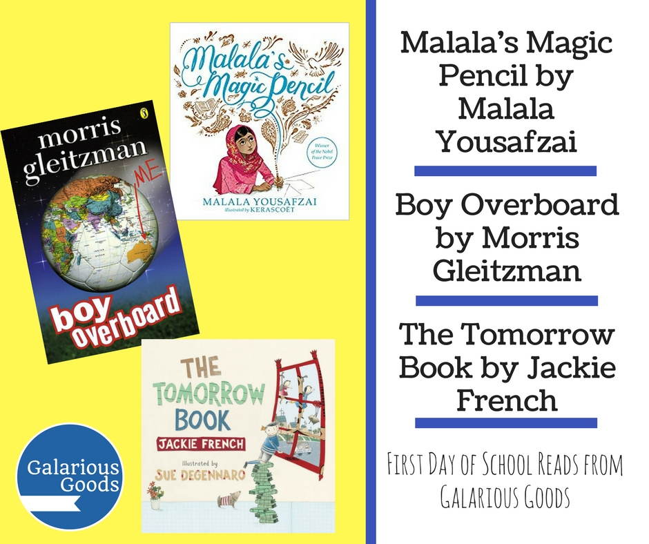 Five Great Back to School Reads from Galarious Goods