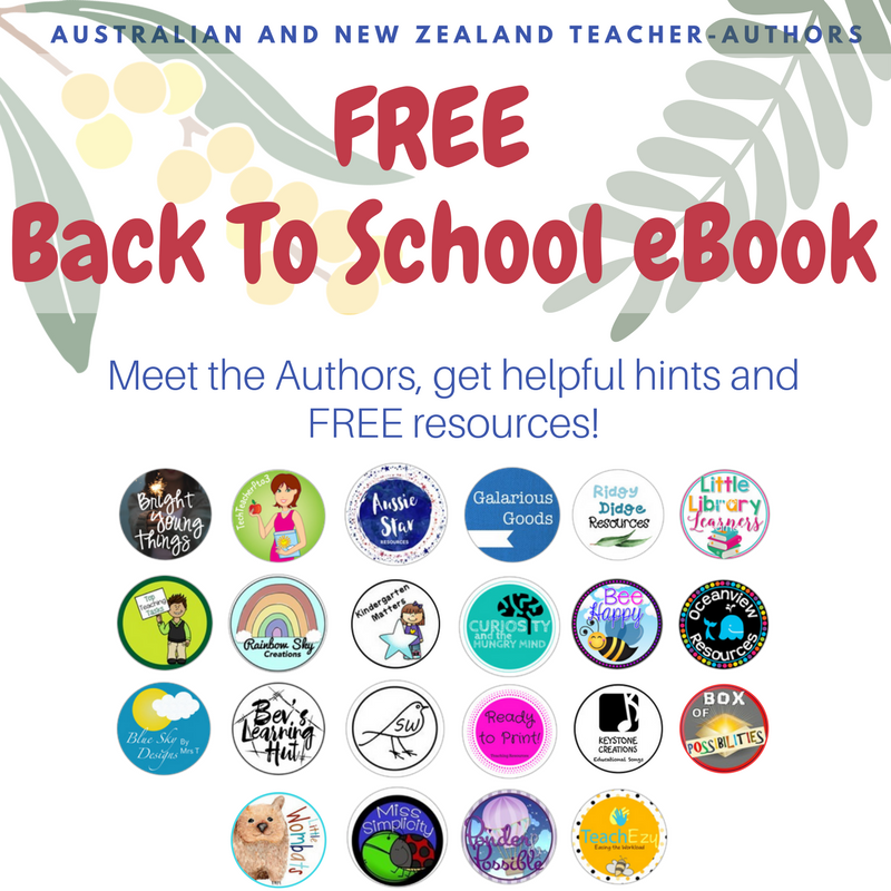 Free Back to School eBook from Australian and NZ teacher-authors