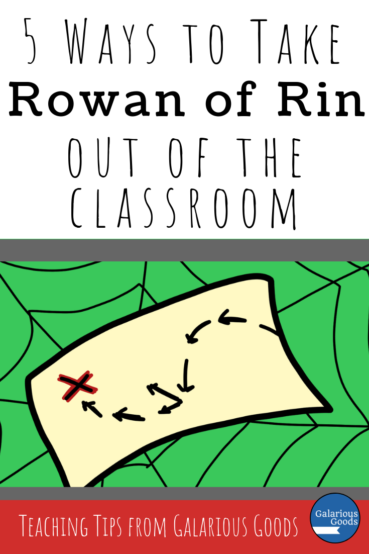 5 Ways to Take Rowan of Rin out of the Classroom. A thoughtful and extensive blog post exploring Rowan of Rin by Emily Rodda and how teachers can extend learning outside the four classroom walls. A Galarious Goods blog post.