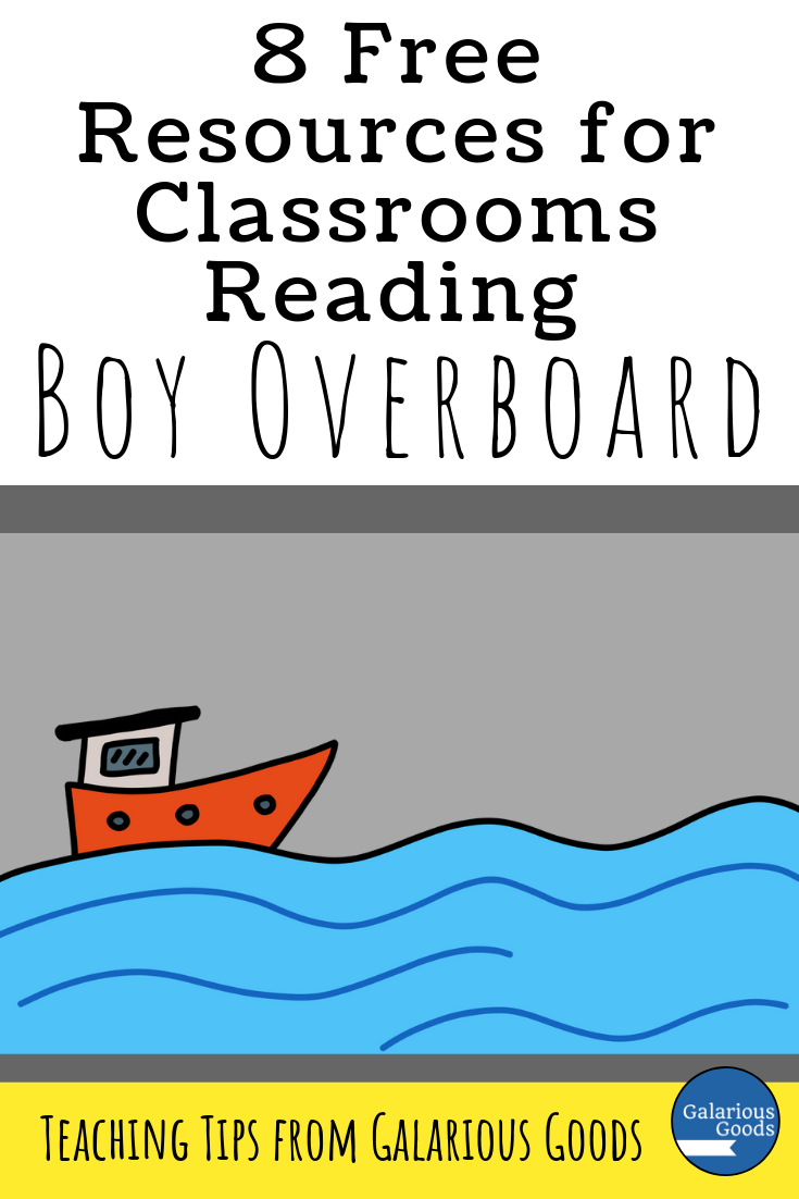 8 Free Resources for Classrooms Reading Boy Overboard - a collection of links and ideas for the Morris Gleitzman novel and some ways to use them in the classroom. A Galarious Goods blog post.