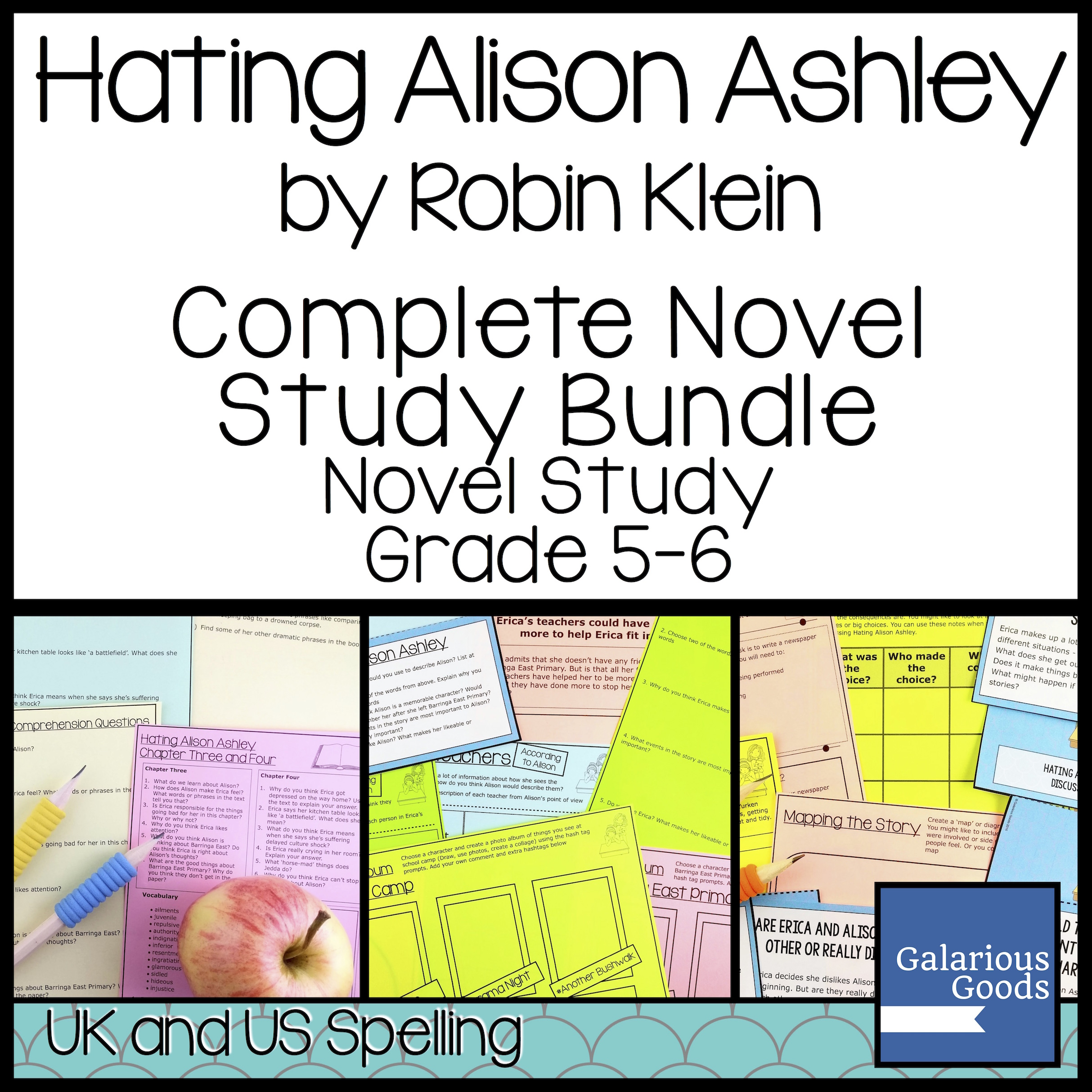 Hating Alison Ashley Bundle from Galarious Goods