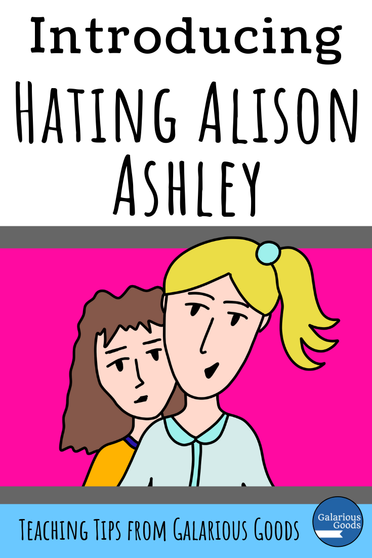 Introducing Hating Alison Ashley. A look at Hating Alison Ashley, the classic Australian middle grades novel by Robin Klein - and why it's perfect for upper primary classrooms. A Galarious Goods blog post