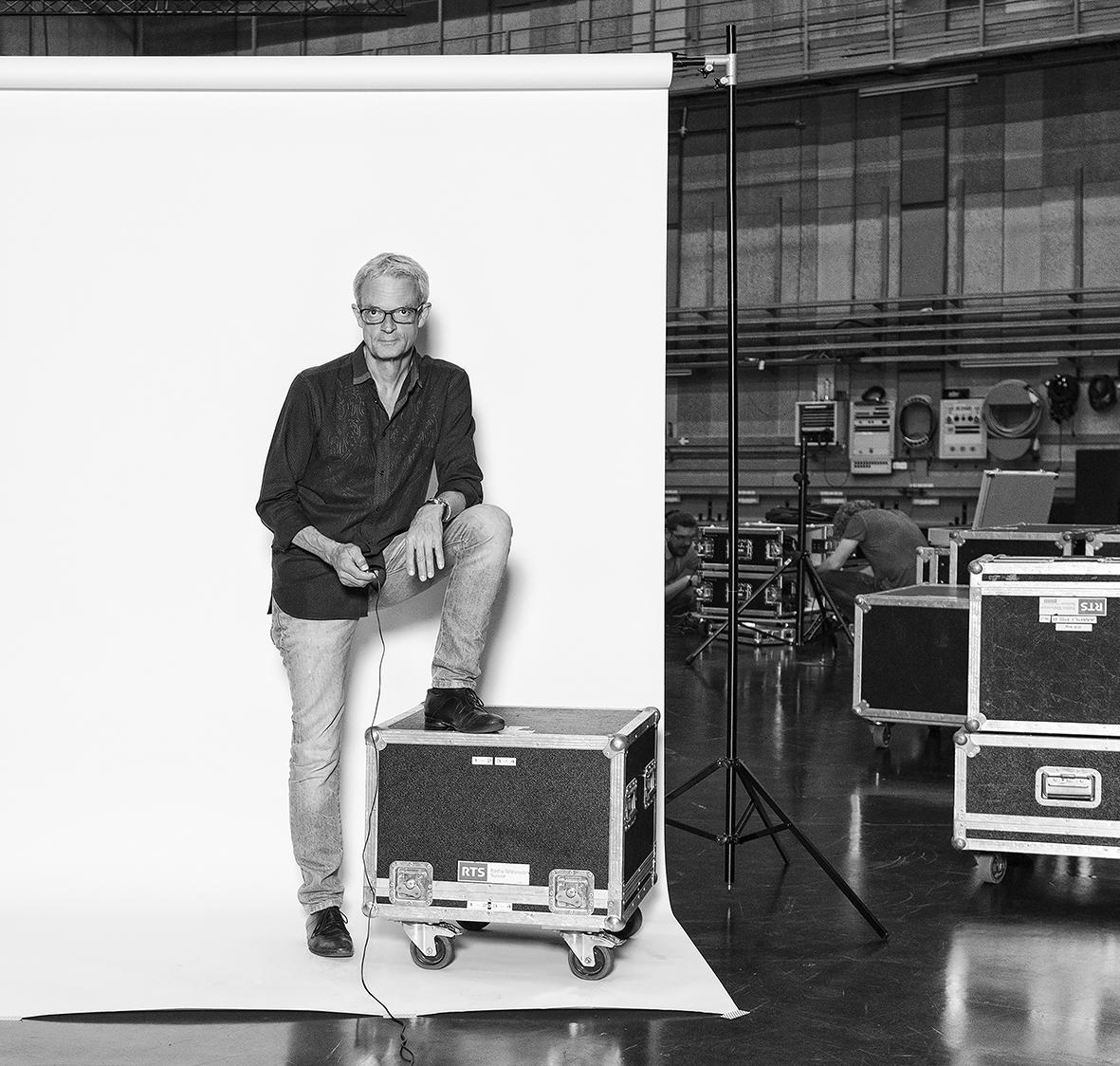 Patrick Fischer - journaliste, producteur et présentateur de l'émission TTC