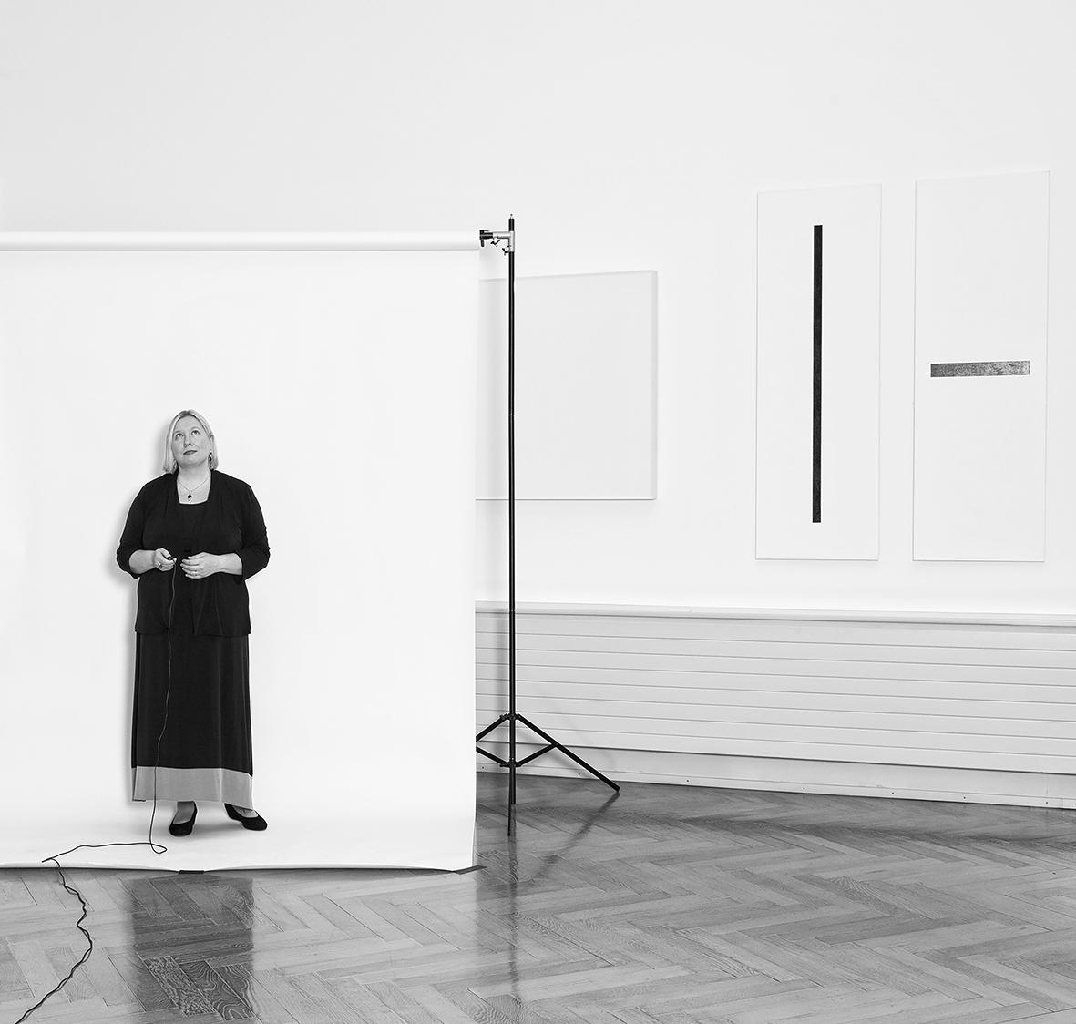 Lada Umstätter - conservatrice en cheffe du domaine des beaux-arts du Musée d'art et d'histoire de Genève