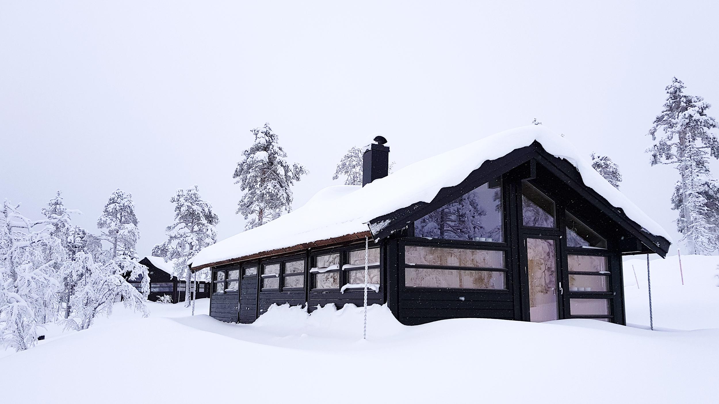 TILSVARENDE HYTTE C35 PÅ TOMT 87