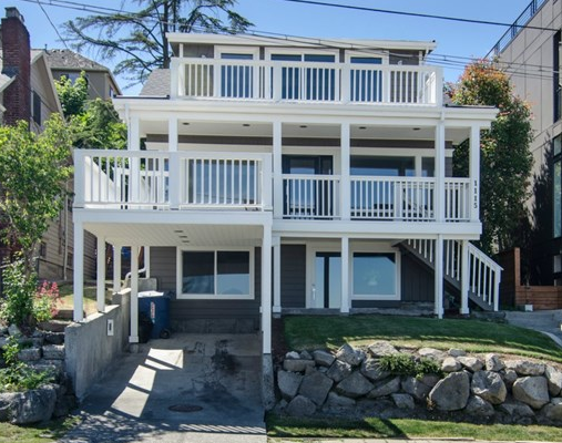 1115 Lake Washington Blvd S, Seattle  $1,029,000 4 bed, 3.5 bath, 3090 sq ft