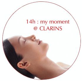 BEHIND THE DOOR… with CLARINS -