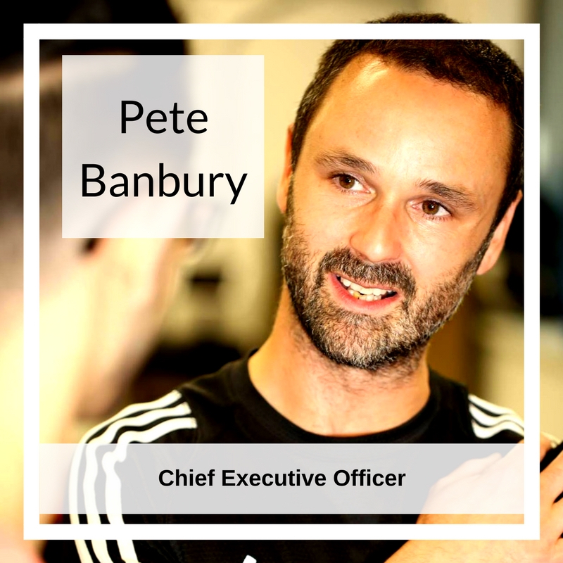 Pete Banbury   Pete has enjoyed 22 successful years in fitness and professional sport. From Fitness Instructing to Personal Training, to delivering Sports Massage and Nutrition.He spent fourteen years honing his craft at a former industry leading training provider, progressing from Lecturer to Board Director.Running parallel in his early lecturing years was a four year stint as Sports Masseur to Premiership Rugby champions Leicester Tigers.Setting up HPT5 has allowed Pete and his experienced team to set their sights high – to rewrite the fitness story. This means transforming the learning experience for Fitness Professionals in order to produce the most highly skilled, respected and confident practitioner in the industry.