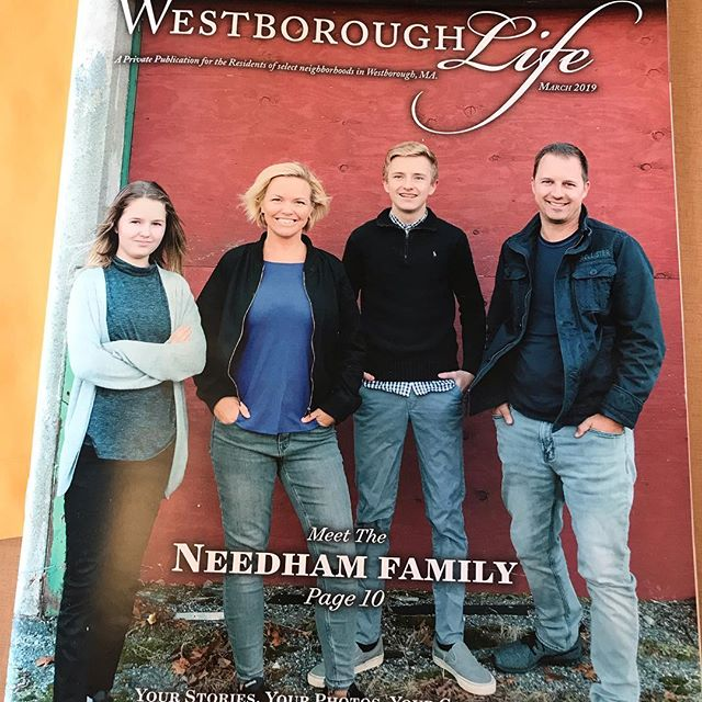 I had given up on my middle school dream of being on the cover of magazine!  Thank you @zawadzkilinda and @westboroughlifepub for this special opportunity! #myracemyplace #heygirlpodcast #myberea19 #chickfila