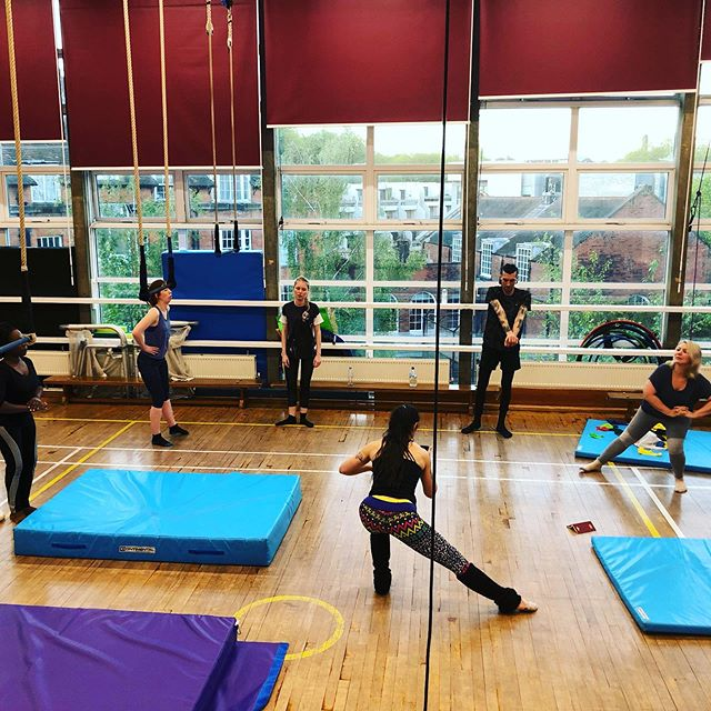 Aerial Conditioning & Flexibility tonight 7.15-8.45pm, near Archway, North London. £8 for the 1stclass. We use aerial equipment and floor conditioning. Michal always has interested exercises! #northlondonclasses #aerialclass #aerialconditioning #londonfitness #fitnesslondon #londonexercise #london