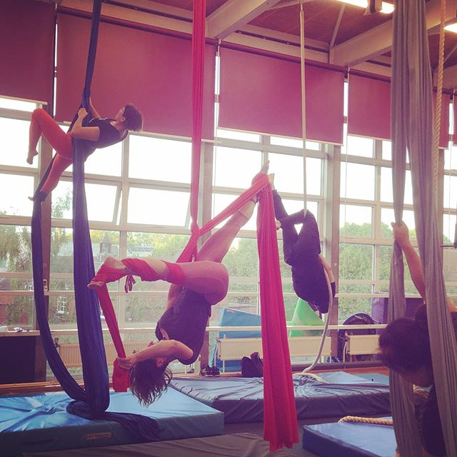**£5 class** Come and try Trapeze, Hoop or Straps with us in Archway at 11.45-1.15pm. TODAY ONLY!! Use code: Summer£5 Carnet holders and regular students book today and get a free conditioning class!