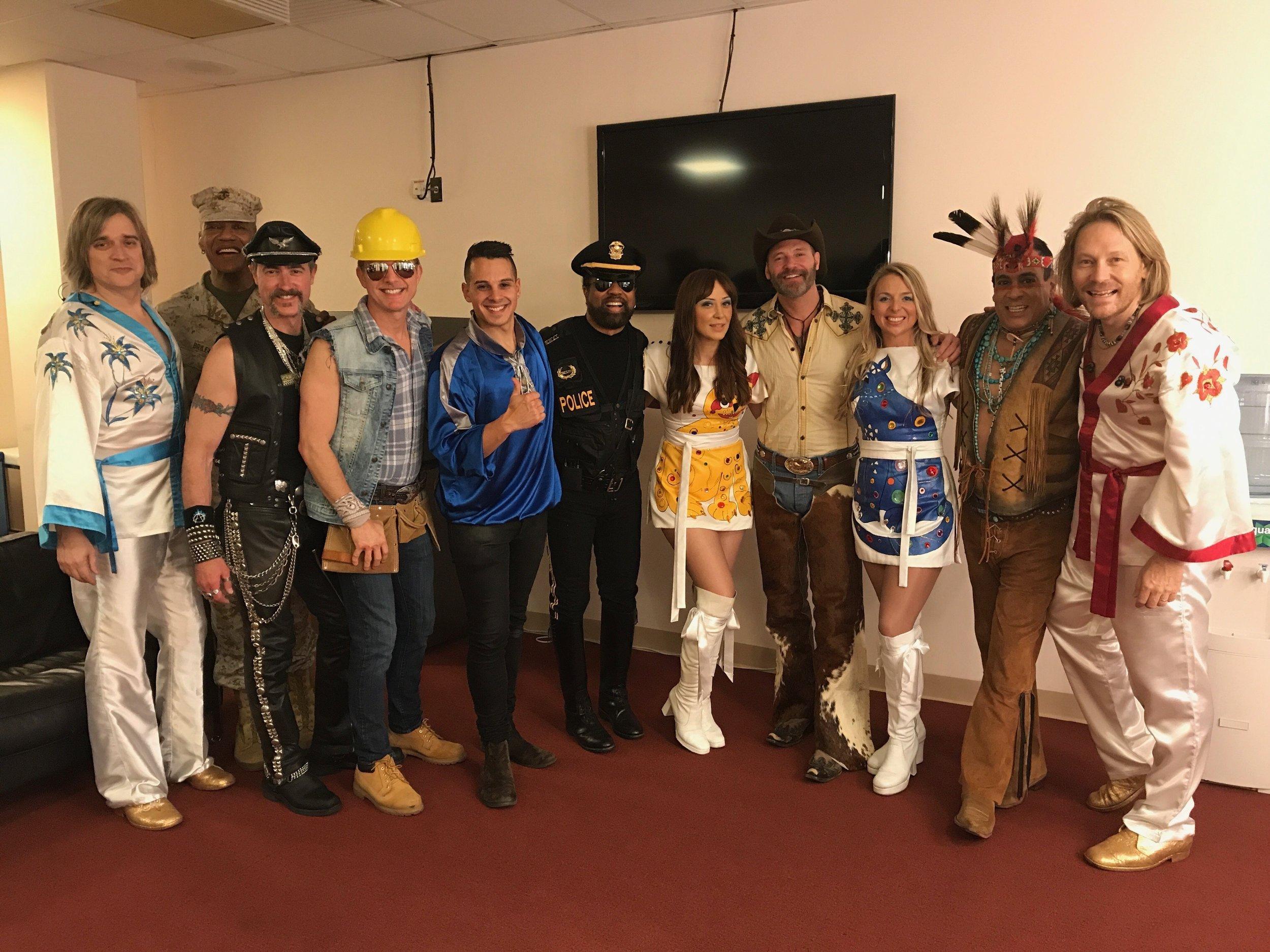 Bjorn Again and The Village People Tour Australasia