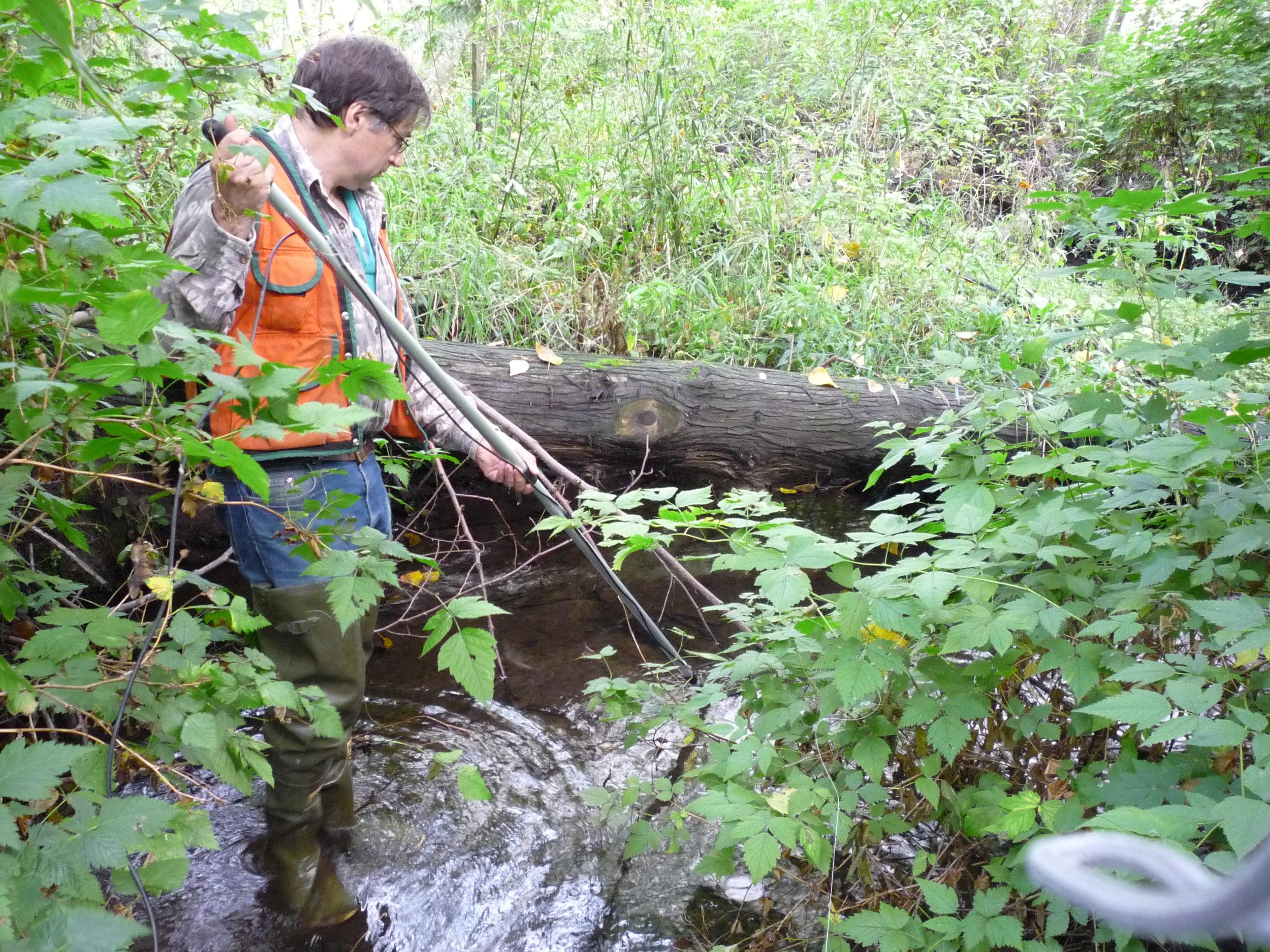Stream and Fish Habitat Design