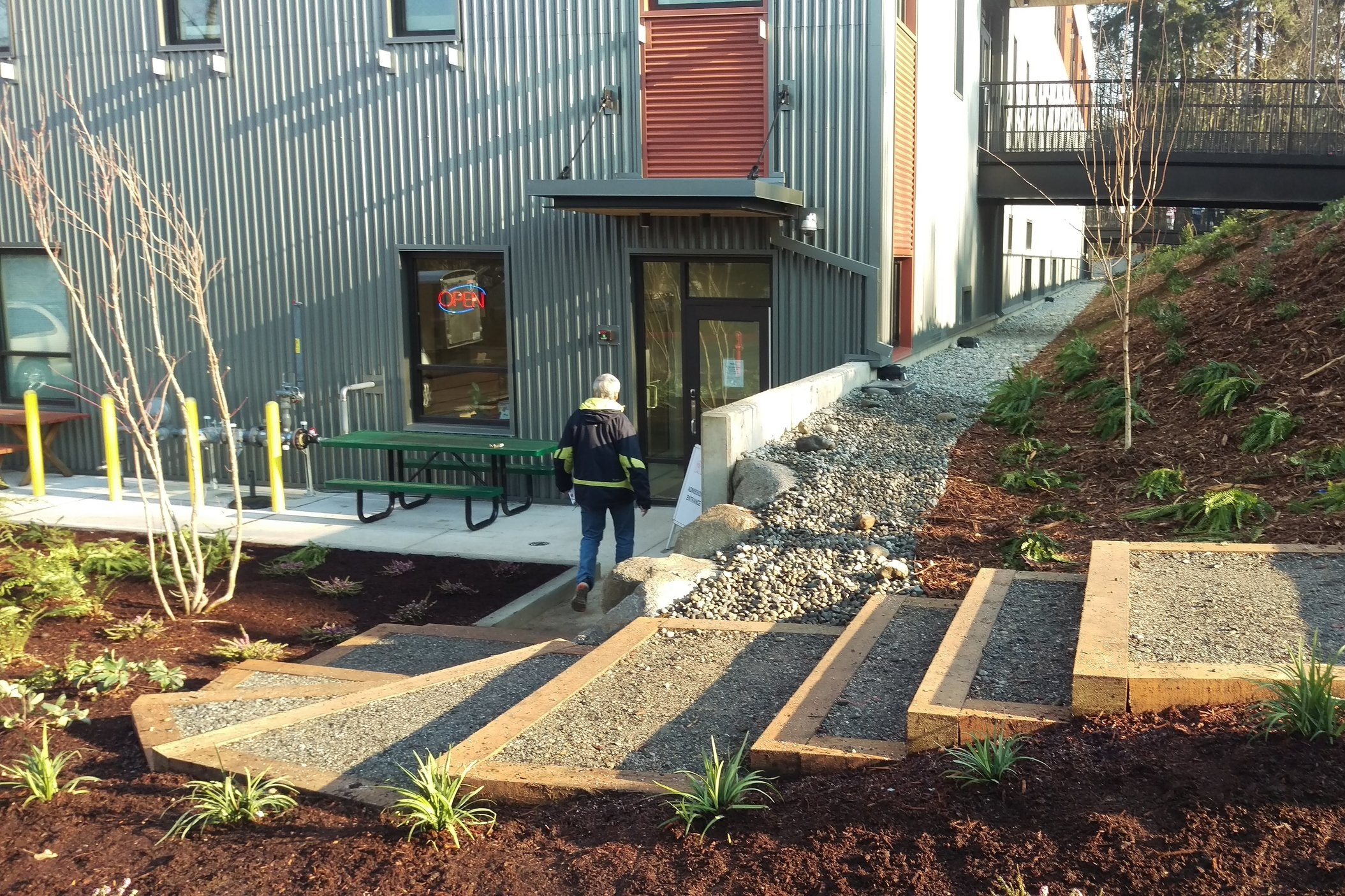 Seattle Humane Society's Landscape Design by The Watershed Company